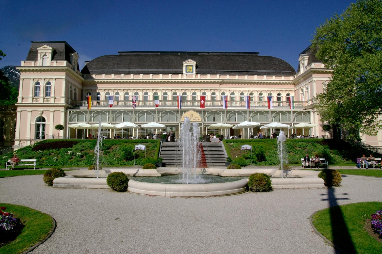 Das gastliche Kongresshaus Bad Ischl mit schönem Kurpark