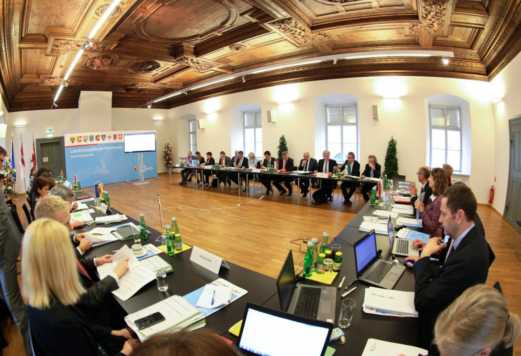 Tagung der Gesundheitsreferenten der österreichischen Bundesländer in der Neuen Residenz Salzburg Foto: Franz Neumayr   LMZ     4.5.2016