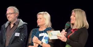 (c) www.annarauchenberger.com / Anna Rauchenberger – Wien, 01.05.2016 - Verleihung der SozialMarie 2016, Preis fuer soziale Innovation, im Radiokulturhaus. FOTO v.l.: Josef Hader (Ehrenschutz), Wanda Moser-Heindl, Barbara van Melle