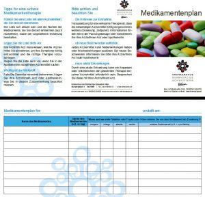 Medikamentenpass