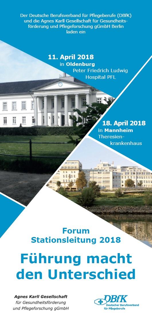 Forum Stationsleitung 2018: Führung macht den Unterschied