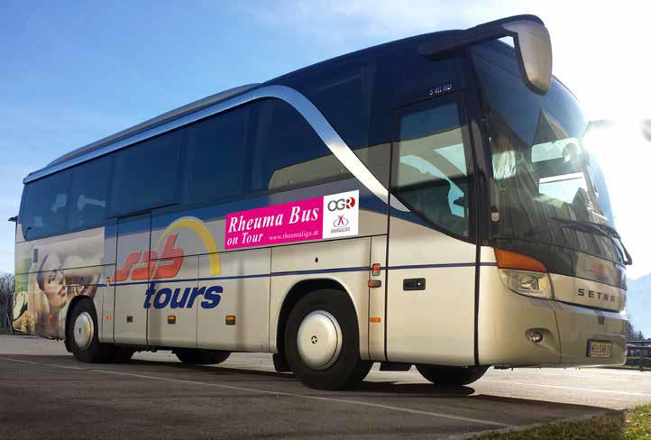 Rheumabus on Tour durch Österreich