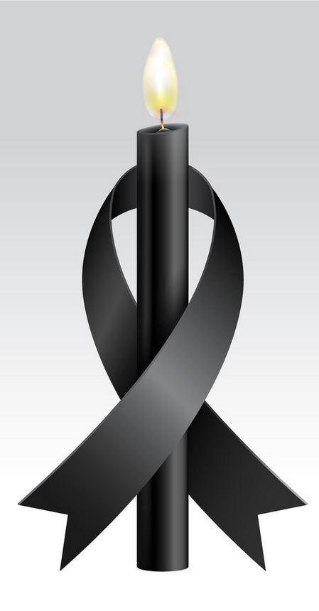 black-ribbon-black-candle