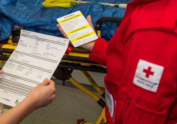 Checkliste Patientenübergabe Notfallaufnahmen Tirol 10-2018