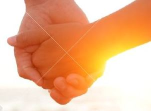 Händehalten-Sonne