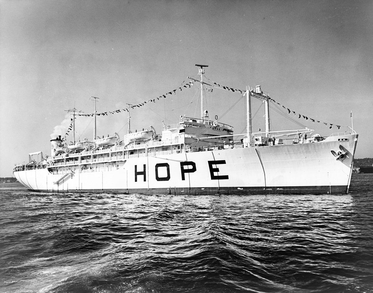 HOPE-Lazarettschiff