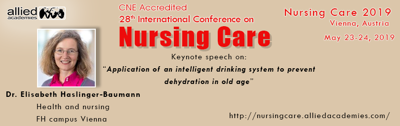 28th CNE Accredited International Conference on Nursing Care