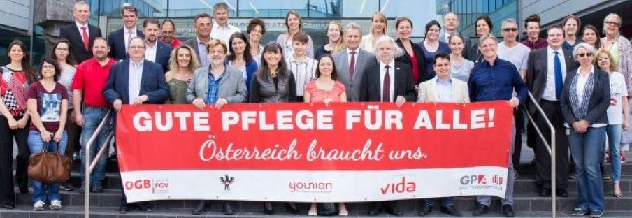 bannerfoto ÖGB-FGV Gute Pflege 12-2018