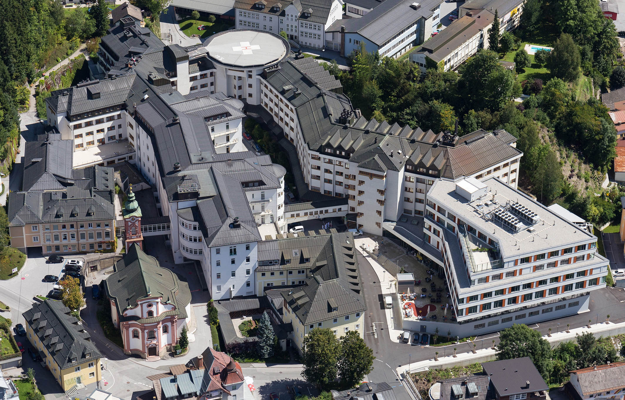 KS-Klinikum Schwarzach Luftbild