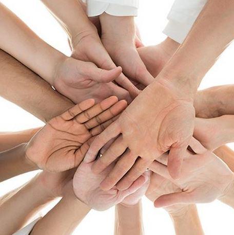 hände - Teamwork