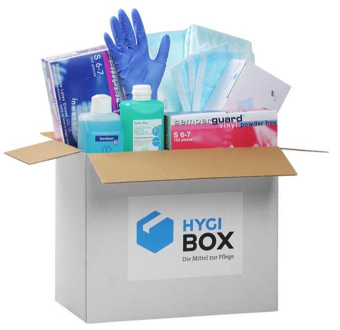 Hygiene-Box kostenfrei Pflege zuhause DE