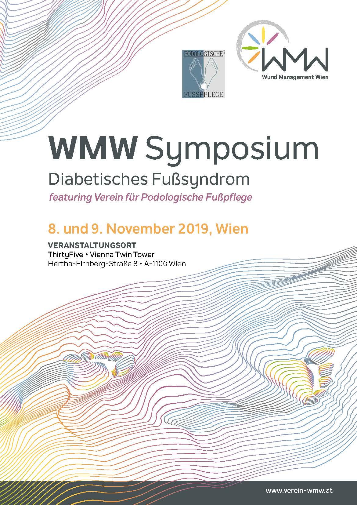WMW Symposium DFS, featuring Verein für Podologische Fußpflege