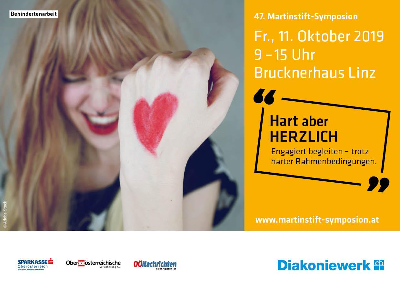 """47. Martinstift-Symposion: """"Hart aber HERZLICH. Engagiert begleiten - trotz harter Rahmenbedingungen"""""""