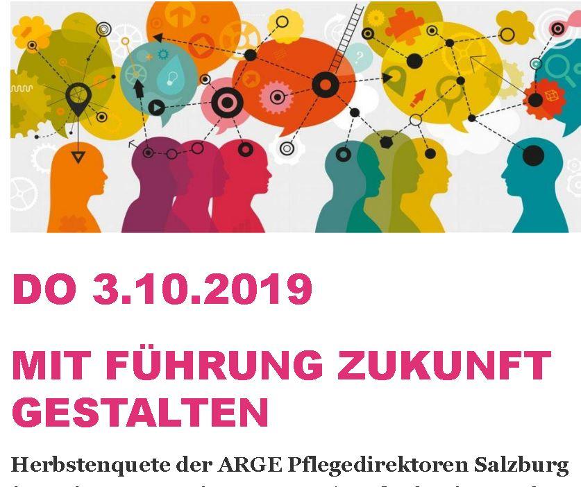 Salzburger Pflege-Enquete - Mit Führung Zukunft gestalten