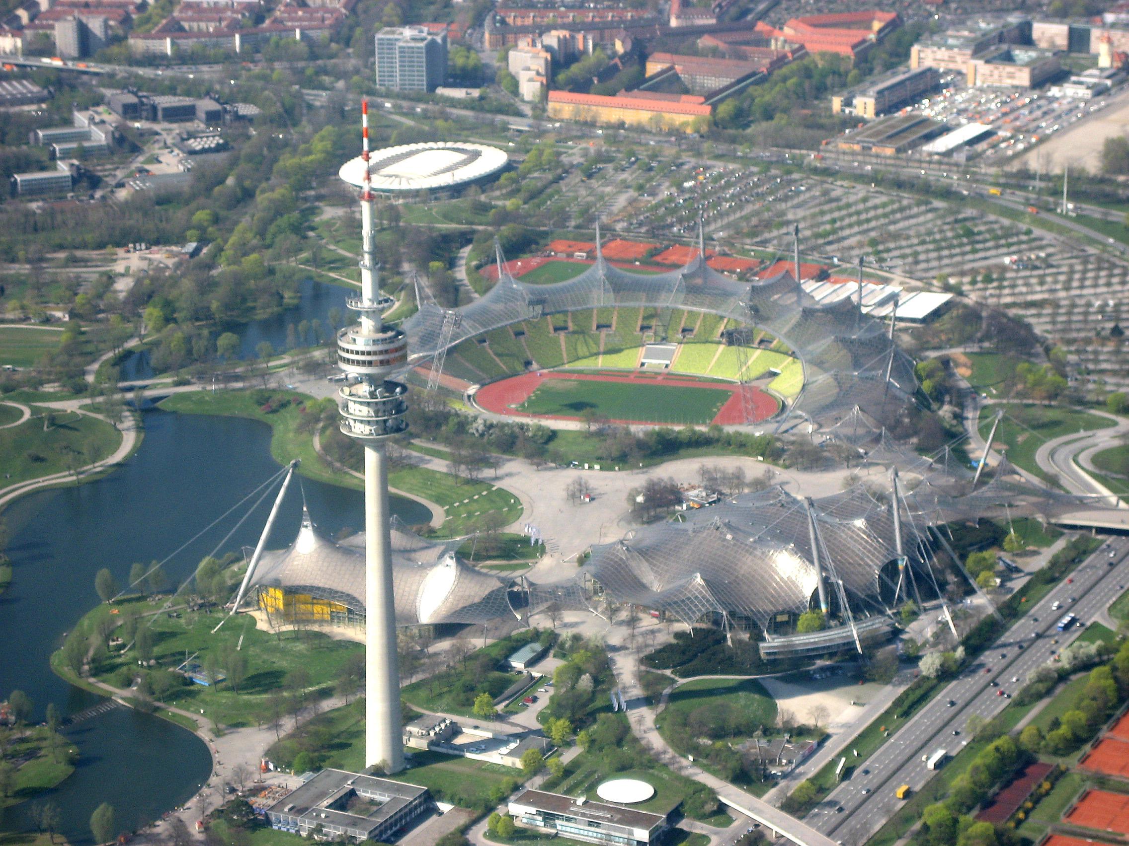 München_-_Olympiapark_(Luftbild)