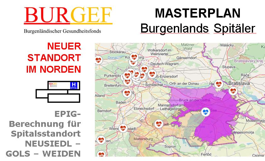 Burgenland Masterplan 2019 Spitalneubau Seewinkel