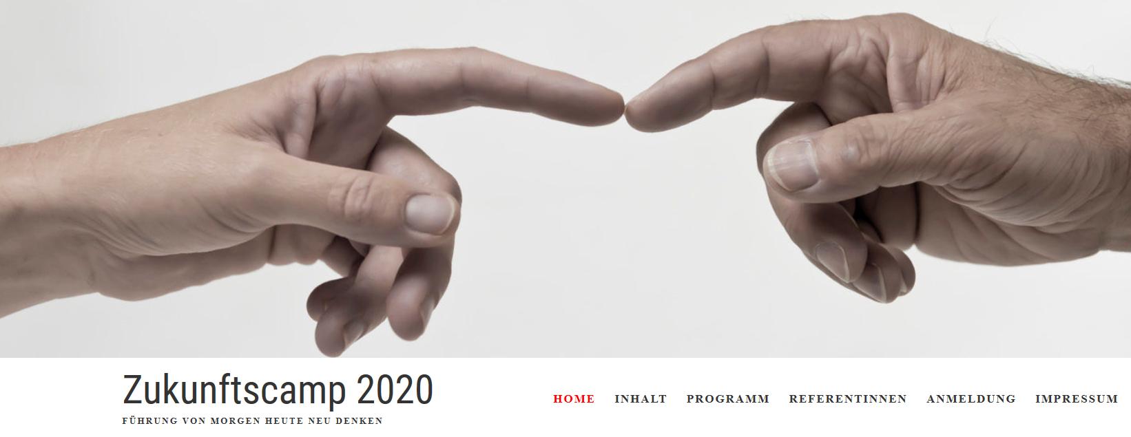Zukunftscamp 2020 - FÜHRUNG VON MORGEN HEUTE NEU DENKEN