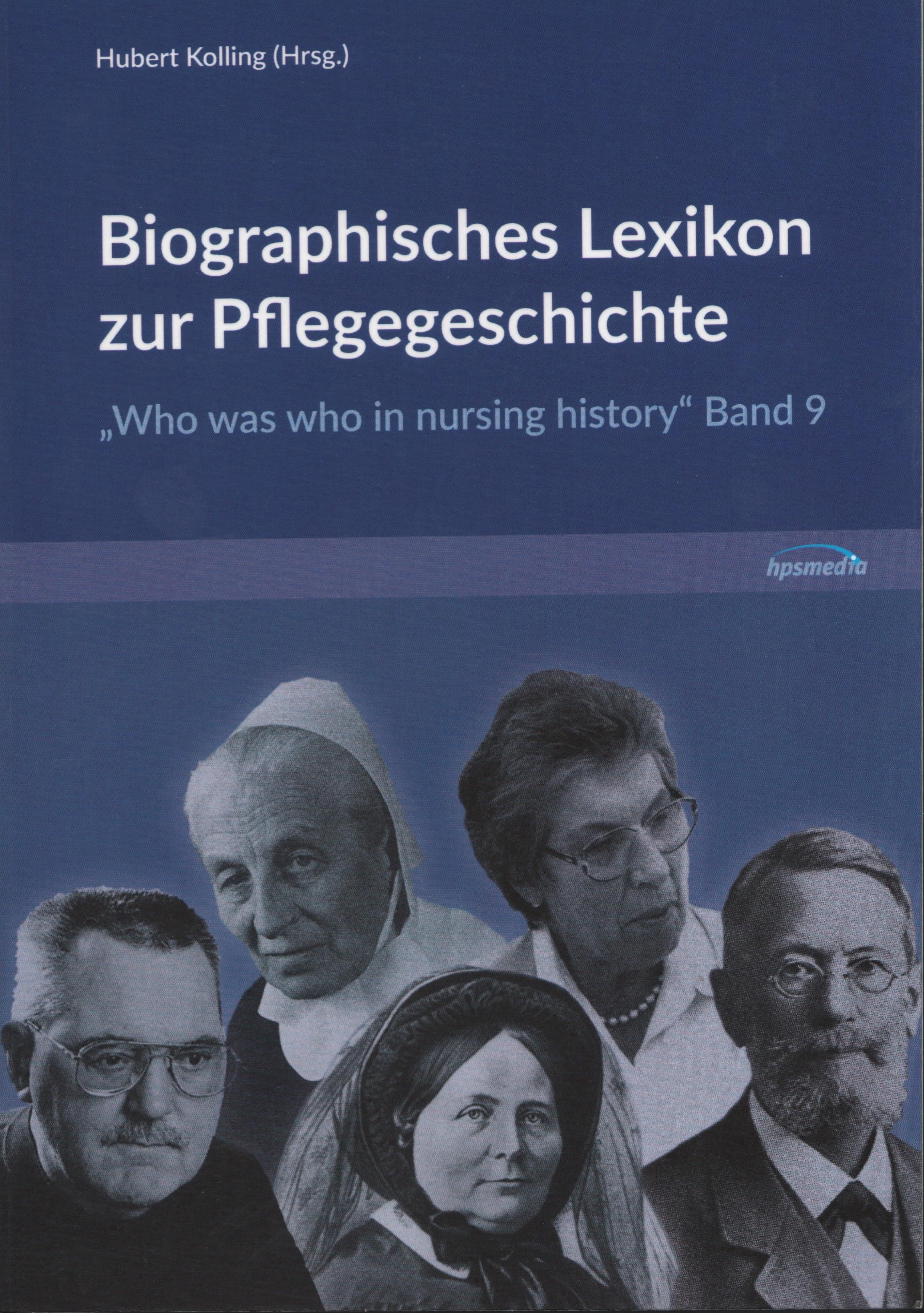 Cover zu KOLLING Biographisches Lexikon, Band 9