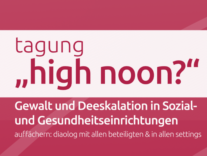 Fachtagung: high noon? - 2021, Wien