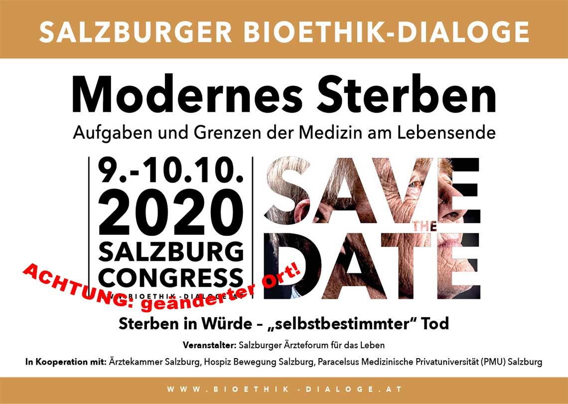 Bioethik-Kongress 2020 Salzburg