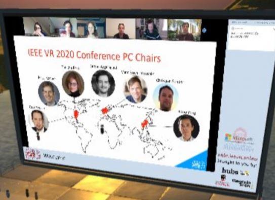 Zoom-VR-Konferenz